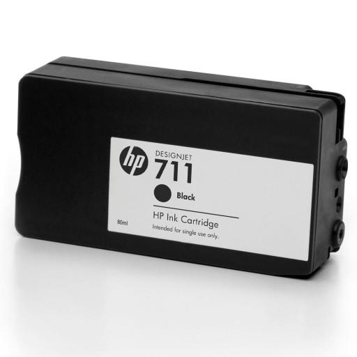 HP CZ133A, Ink Cartridge HC Black, 711- Genuine