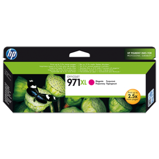 HP Officejet Pro X551dw Ink Cartridges - HC Magenta Genuine, CN627AE