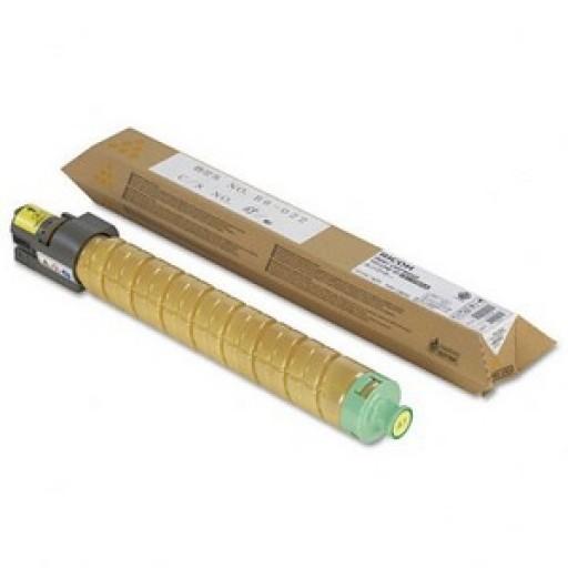 Infotec 841185, Toner Cartridge Yellow, MP C4000, C5000, C4501, C5501- Original