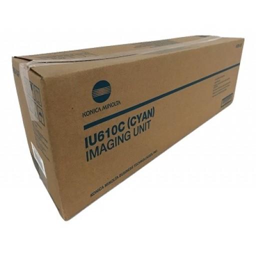 Konica Minolta IU610C, Imaging Drum Unit- Cyan, Bizhub C451, C550, C650- Original
