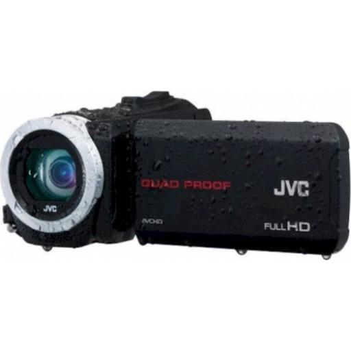 JVC GZ-R15, HD Everio Camcorder- Black