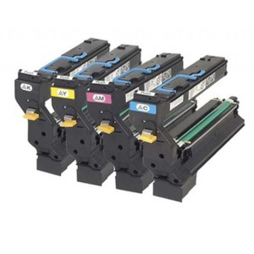 Konica Minolta 1710582 Toner Cartridge Value Pack 4 Colour, Magicolor 5430 - Genuine