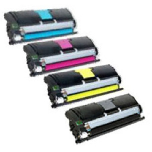 Konica Minolta A00W Toner Cartridge Value Pack, Bizhub C10 - 4 Colour Genuine