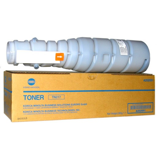 Konica Minolta A202051, Toner Cartridge Black, Bizhub 223, 283- Original