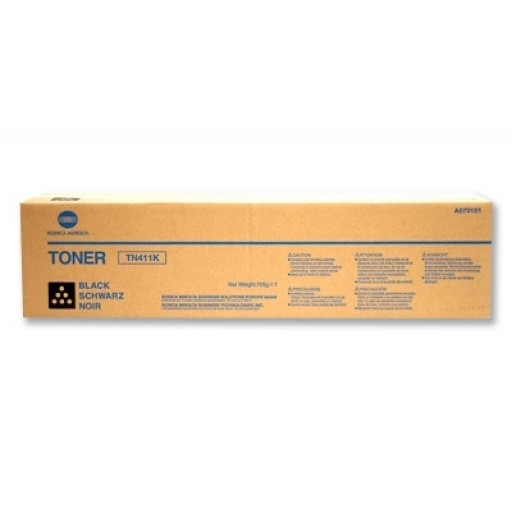 Konica Minolta TN-411K, Toner Cartridge Black, C451- Original