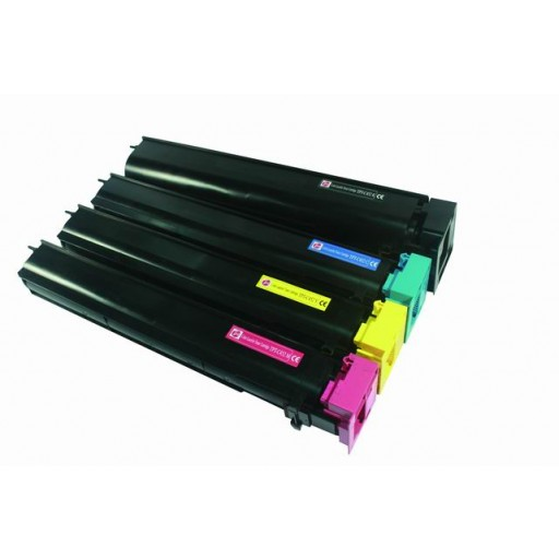 Konica Minolta TN613 Toner Cartridge, Bizhub C552, C652 - Multipack Genuine