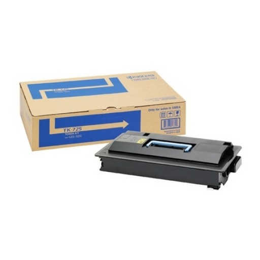 Kyocera Mita TK-725, Toner Cartridge Black, TASKalfa 420i, 520i- Original