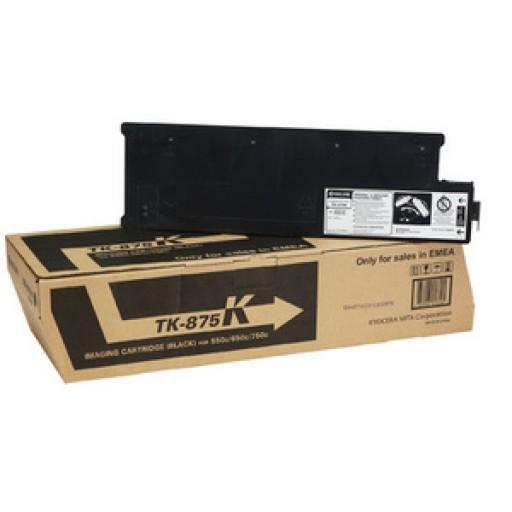 Kyocera Mita, TK-875K, Toner Cartridge Black, TASKalfa 550C, 650C, 750C- Genuine
