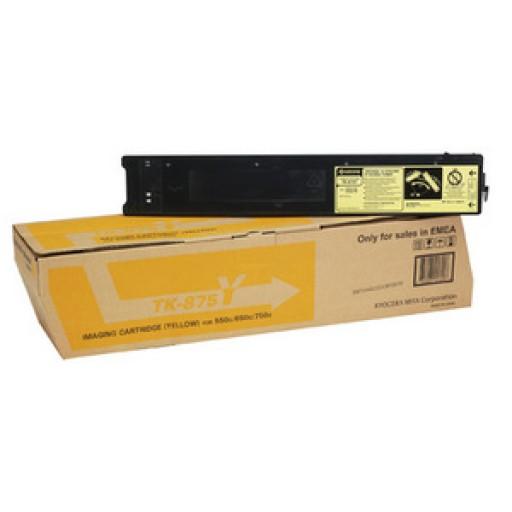 Kyocera Mita  TK-875Y, Toner Cartridge Yellow, TASKalfa 550C, 650C, 750C- Genuine