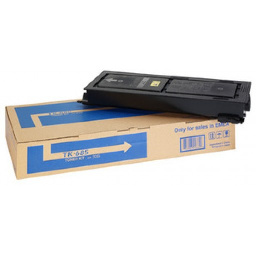 Kyocera TK-685, 1T02K50NL0 Toner Cartridge, TASKalfa 300i - Black Genuine