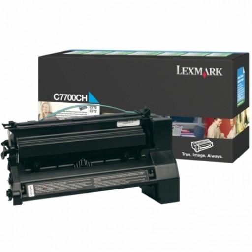 Lexmark C7700MH, Return Program HC Toner Cartridge Magenta, C770, C772, X772- Original
