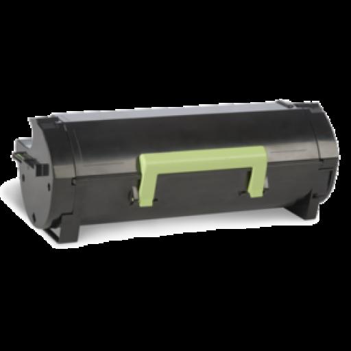 Lexmark 50F0XA0, 500XA Toner Cartridge, MS410 - Extra HC Black Genuine