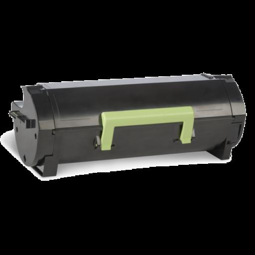 Lexmark 60F0HA0, 600HA Toner Cartridge, MX310, MX410 - HC Black Genuine