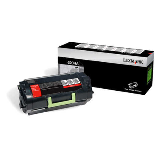 Lexmark 62D0HA0, 620HA Toner Cartridge, MX710 - HC Black Genuine