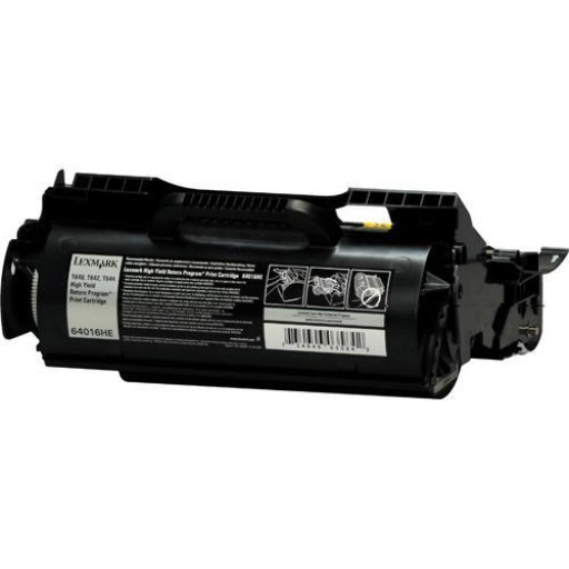 Lexmark 64040HW Toner Cartridge, T640, T642, T644 - Black Genuine