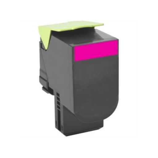 Lexmark 70C0H30, 700H3 Toner Cartridge, CS310, CS410, CS510 - HC Magenta Genuine