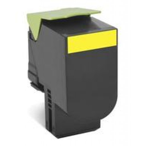 Lexmark 70C20Y0, CS310/410/510 Return Program Toner Cartridge - Yellow