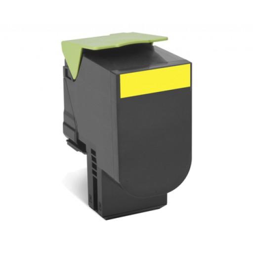 Lexmark 70C2XYE Toner Cartridge, CS510 - Yellow Genuine