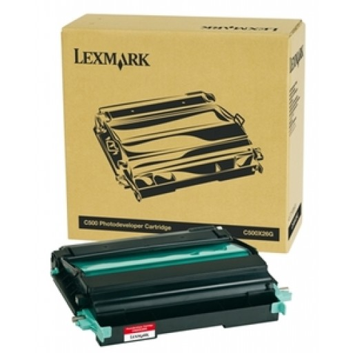 Lexmark C500X26G Imaging Unit, C500, X500, X502 - Genuine