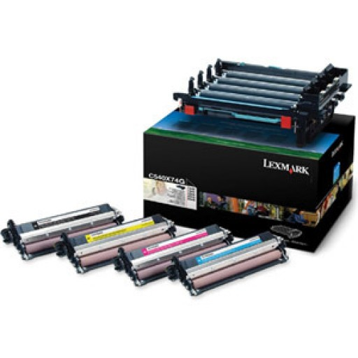 Lexmark C540X74G Imaging Kit, C540, C543, C544, C546 - Black and Colour Genuine