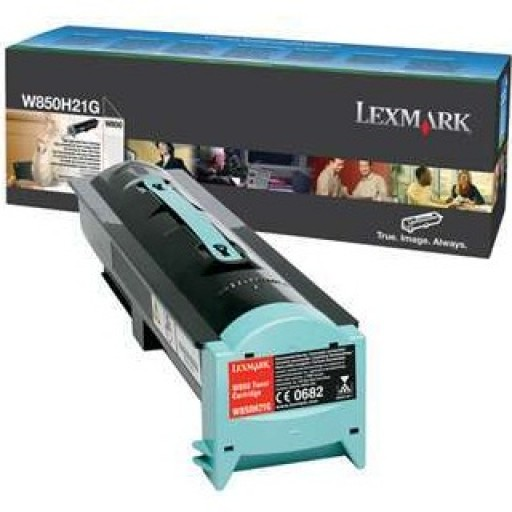 Lexmark W850H21G, W850 Toner Cartridge - Black