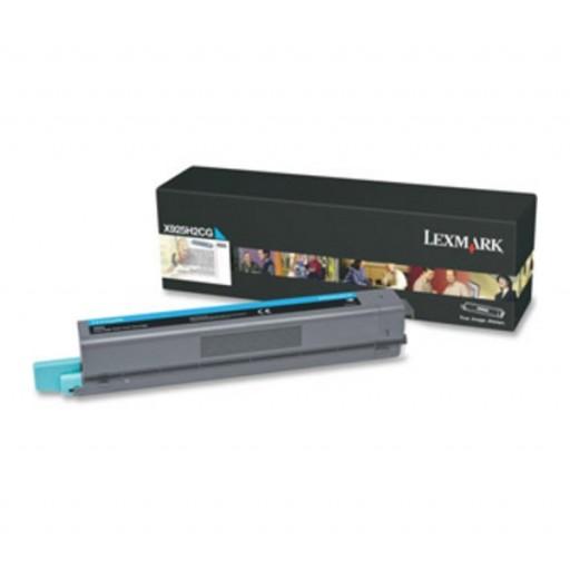 Lexmark X925H2CG, Toner Cartridge- Cyan, X925- Original