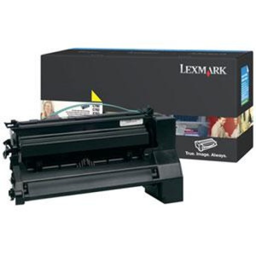 Lexmark C780H2YG Toner Cartridge - HC Yellow Genuine