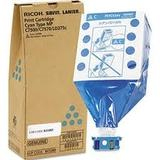 Ricoh 841413, Toner Cartridge Cyan, MP C6501, C7501- Original