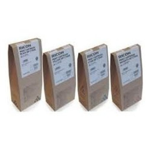 Ricoh 841361, 841362, 841363, 841364, Toner Cartridge Value Pack, MP C6501, C7501- Original