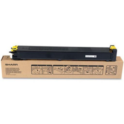 Sharp MX23GTYA, Toner Cartridge Yellow, MX-2010, 2310, 3111- Original