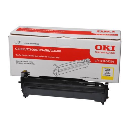 OKI 01247401, Drum Unit Yellow , ES8430, ES8451, ES8460, ES8461- Genuine