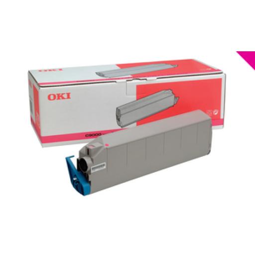 OKI 41515210, Toner Cartridge Magenta, Type 3, C9200, C9400- Original