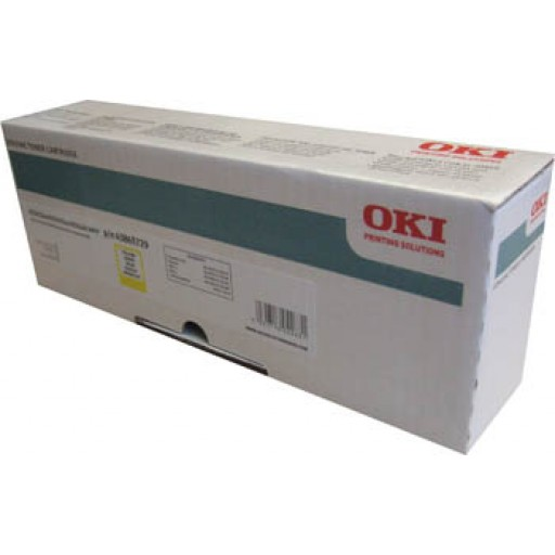 OKI, 43865729, Toner Cartridge Yellow, Es2032, ES2232, ES2632, ES5460- Original
