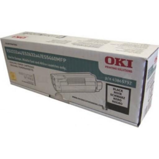 OKI, 43865730, Toner Cartridge Magenta, Es2032, ES2232, ES2632, ES5460- Original