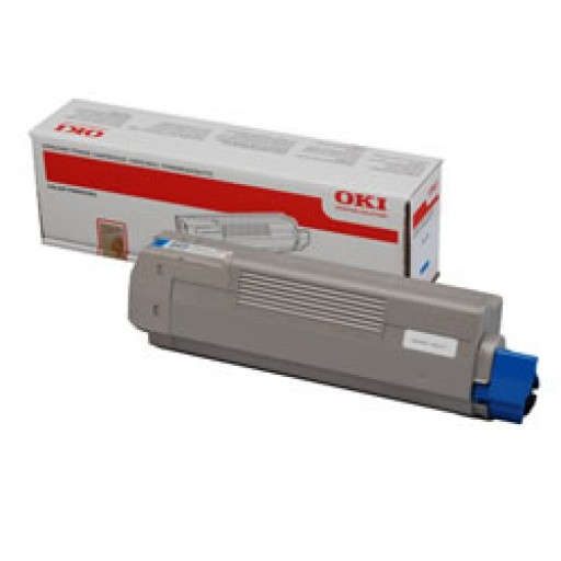 OKI 44059167 Toner Cartridge, MC851 - Cyan Genuine