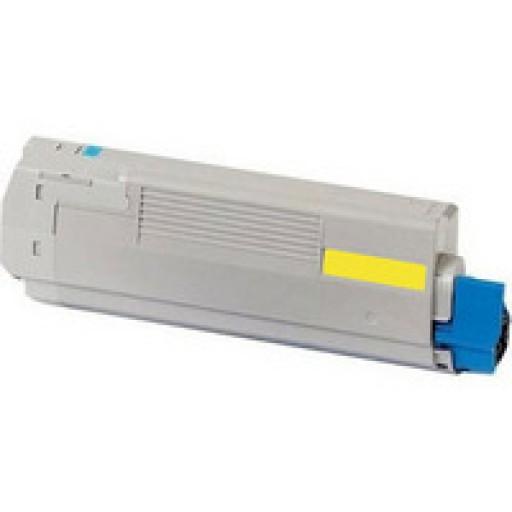 OKI 44973533, C301/321 Toner Cartridge - Yellow