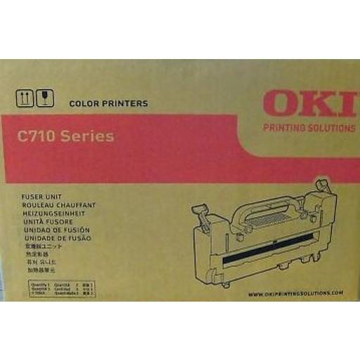 Oki 43854903, Fuser Unit, C710- Original