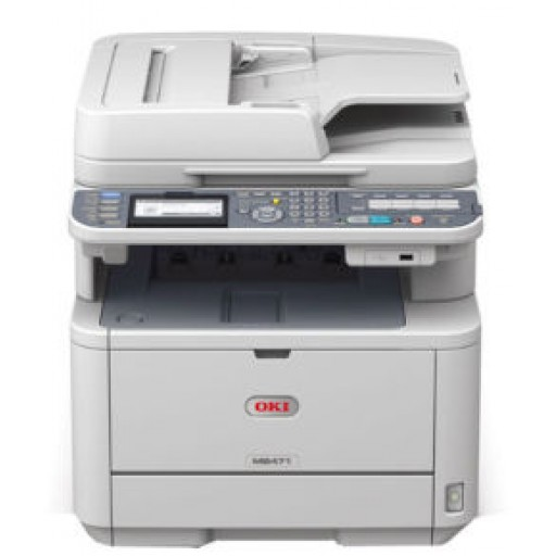 OKI MB461 A4 Mono Multifunction Printer