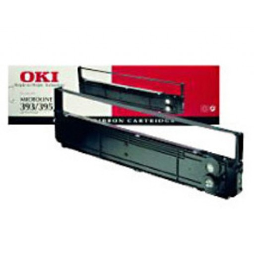 Oki Microline 40629303, Nylon Ink Ribbon, ML4410 - Black Genuine