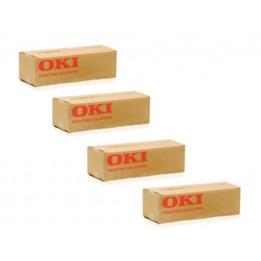OKI Toner Cartridge Value Pack, MPS9650C- Genuine