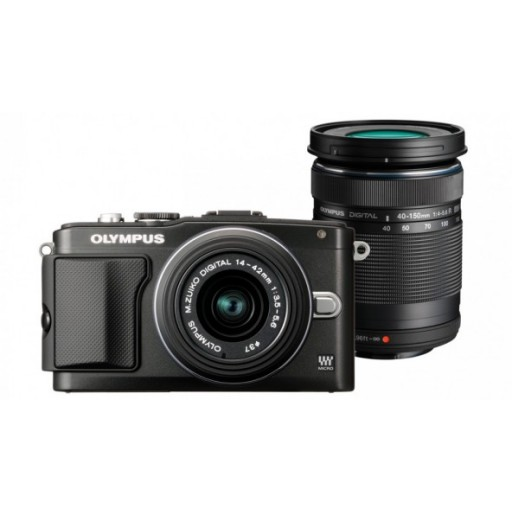 Olympus PEN E-PL5 Camera + Twin Lens Kit