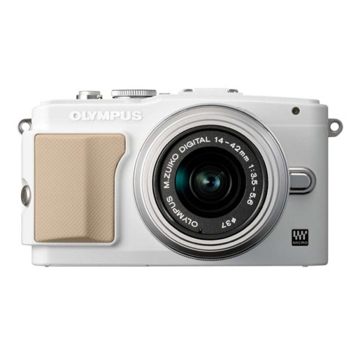 Olympus PEN E-PL5 White Camera + 14-42 mm Lens Kit