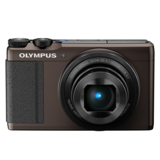 Olympus XZ-10 Compact Digital Camera in Brown