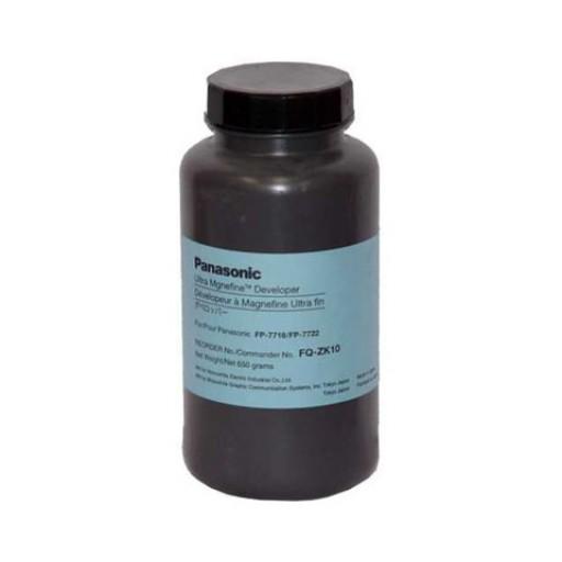 Panasonic FQ-ZK10 Developer, FP 7718, 7722, 7818, 7824 - Black Genuine