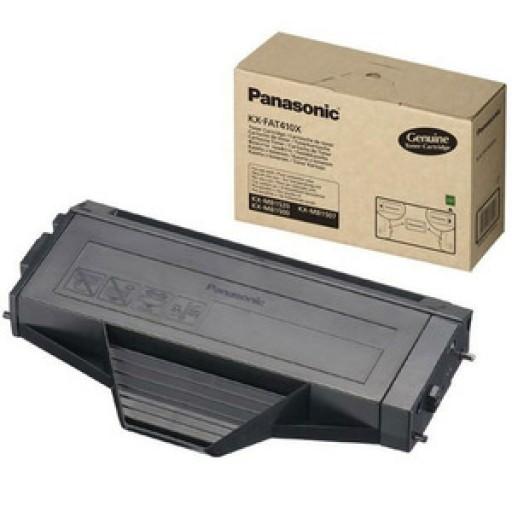 Panasonic KX-FAT410 Toner Cartridge, KX-MB1500CX, KX-MB1520CX, KX-MB1530CX - Black Genuine