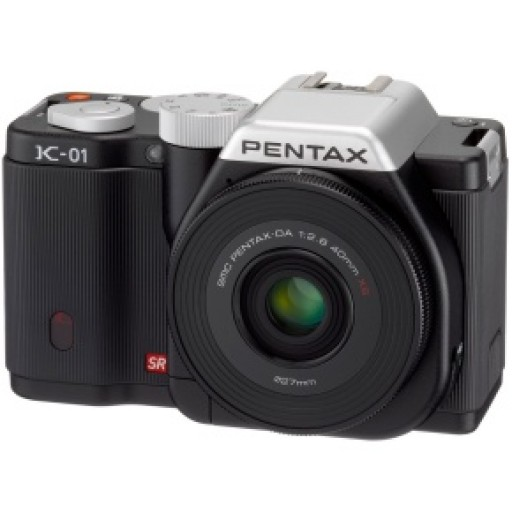 Pentax Imaging K-01 Silver - Body Only