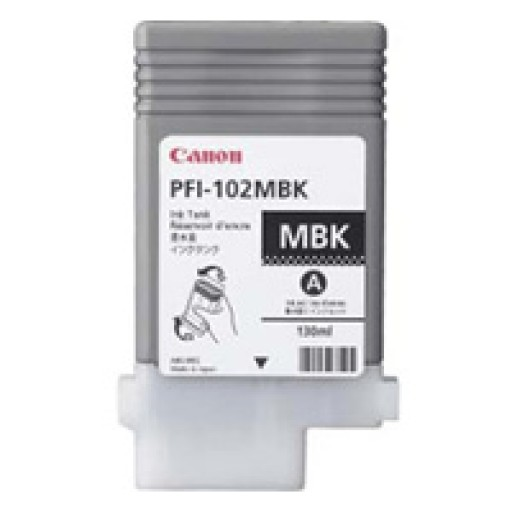 Canon PFI102MBK Ink Cartridge - Matte Black Genuine