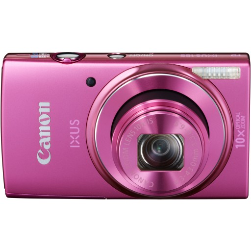 Canon IXUS 155, Digital Camera- Pink