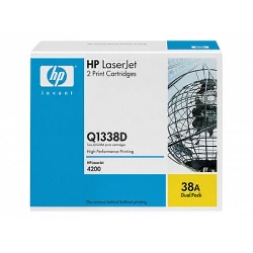 HP 4200 Toner Cartridge - Black Multipack Genuine (Q1338D)