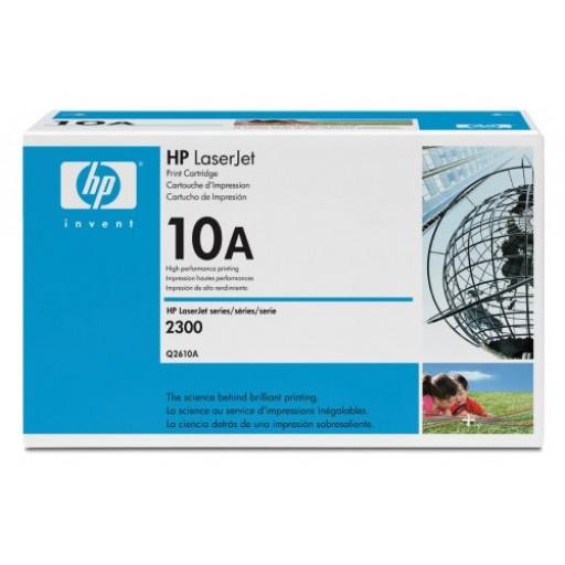 HP Q2610A, Toner Cartridge Black, 2300- Original